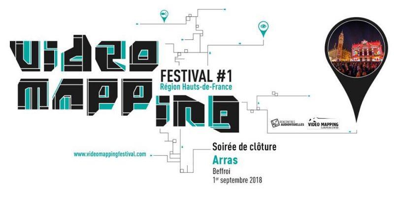 Video Mapping Festival #1 – Soirée de clôture – Beffroi, Arras 1er Septembre