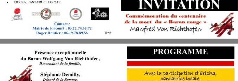 DIGGER COTE 160 à Fricourt le 21 Avril