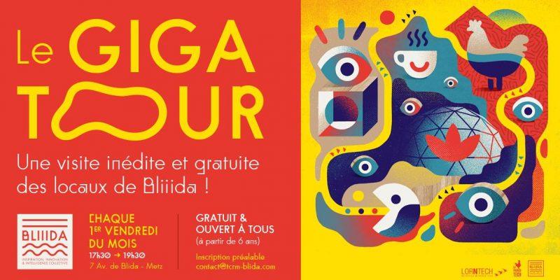 Le Gigatour : la visite grand public et gratuite de Bliiida tous les premiers vendredi du mois