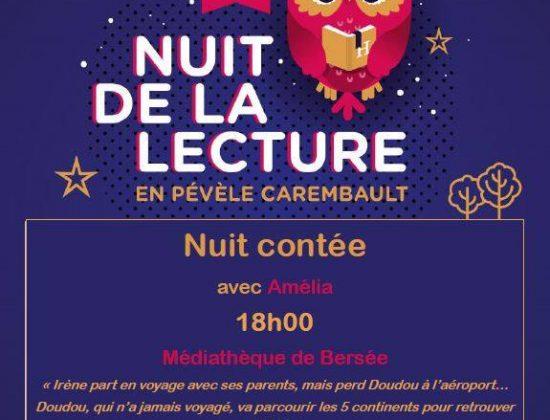 """Nuit de la lecture : """"Nuit contée"""""""