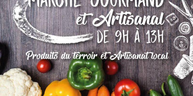 Le Marché Gourmand et Artisanal de St Etienne sur Suippe, le dernier dimanche de chaque mois