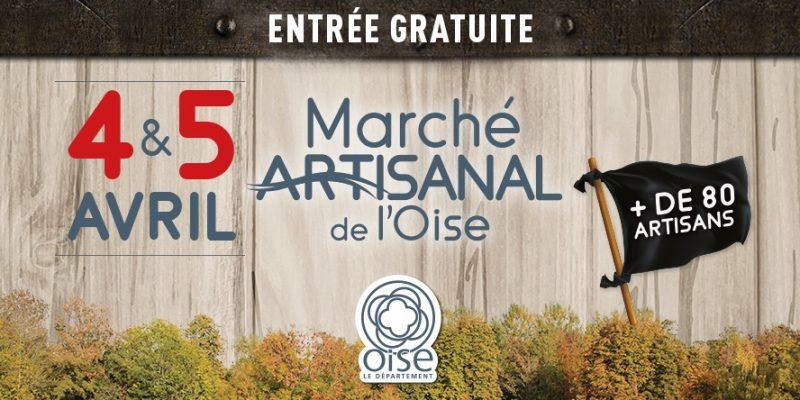 Marché Artisanal de l'Oise les 4 et 5 Avril