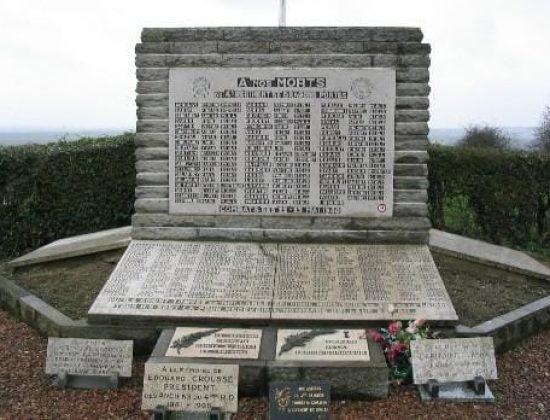 80 ans des combats du Mont St Eloi du 22 au 24 Mai