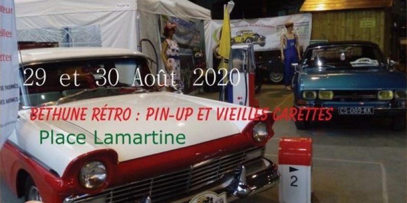Béthune Rétro : Pin-Up et Vieilles Carettes les 29 et 30 Août