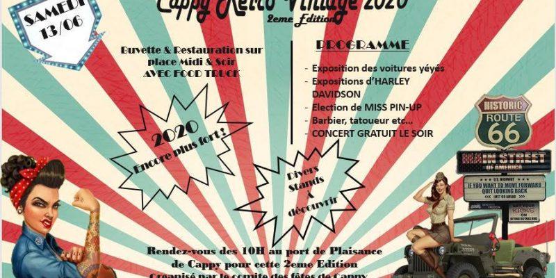 Cappy Retro Vintage le 13 Juin