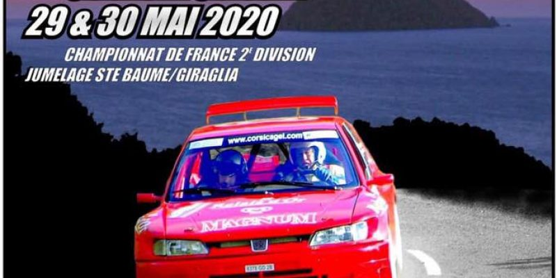 50ème Ronde de la Giraglia (Rallye) les 29 & 30 Mai