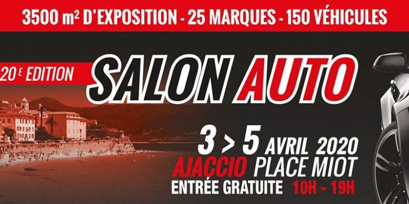 Salon Auto Ajaccio – 20ème édition du 3 au 5 Avril