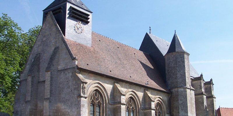 visite église de Folleville classée aux monuments historiques et au patrimoine mondial de l'UNESCO